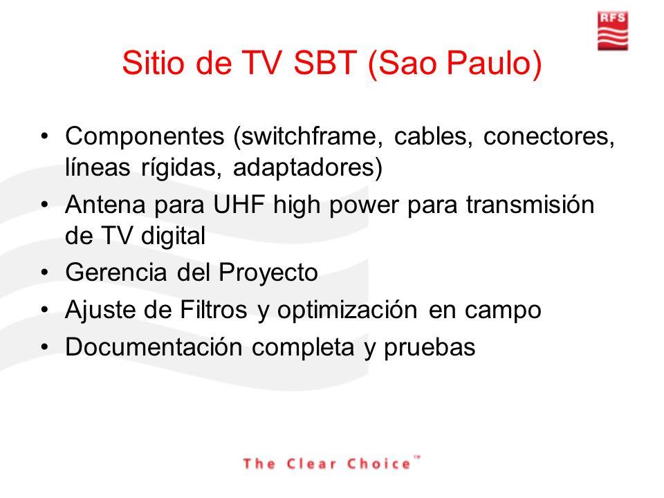 Sitio de TV SBT (Sao Paulo)