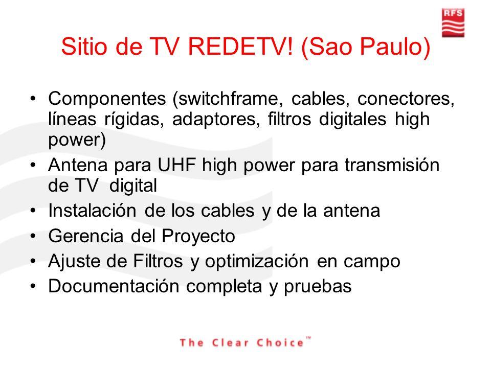 Sitio de TV REDETV! (Sao Paulo)