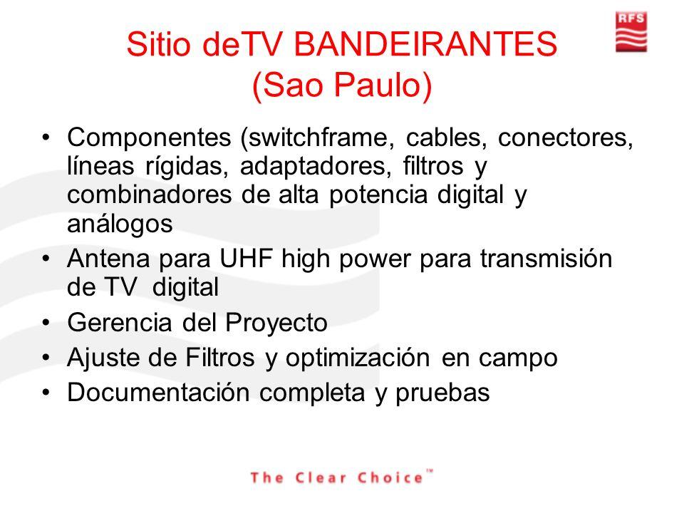 Sitio deTV BANDEIRANTES (Sao Paulo)