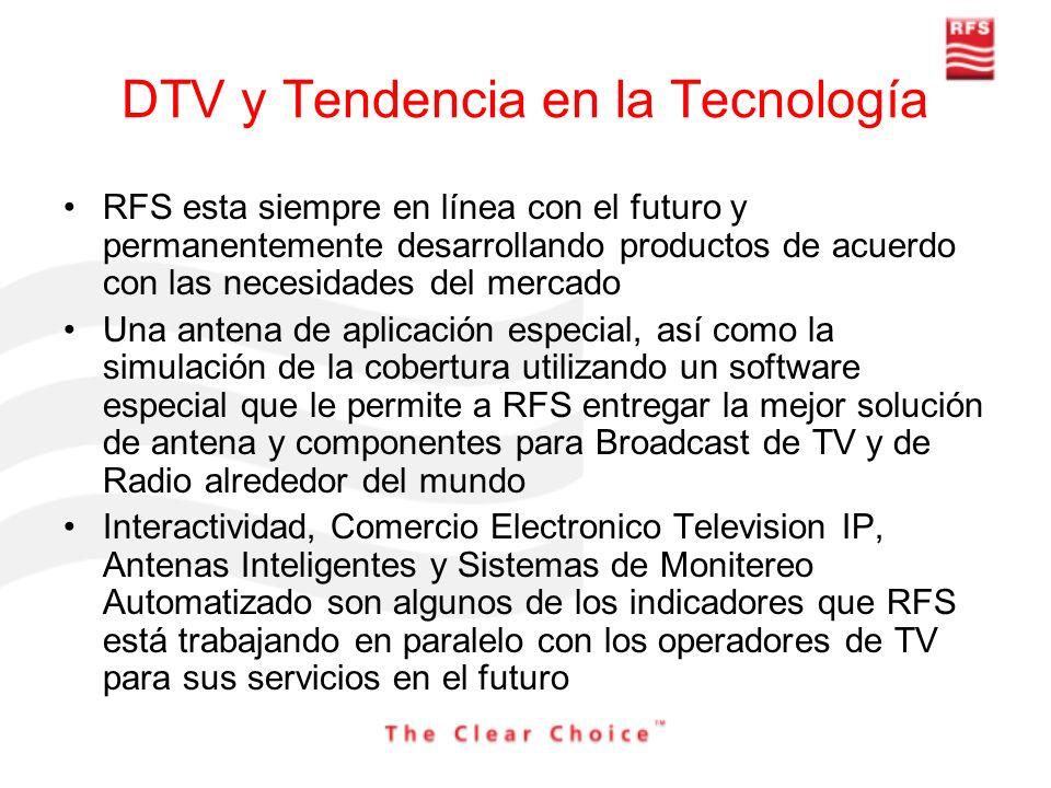 DTV y Tendencia en la Tecnología