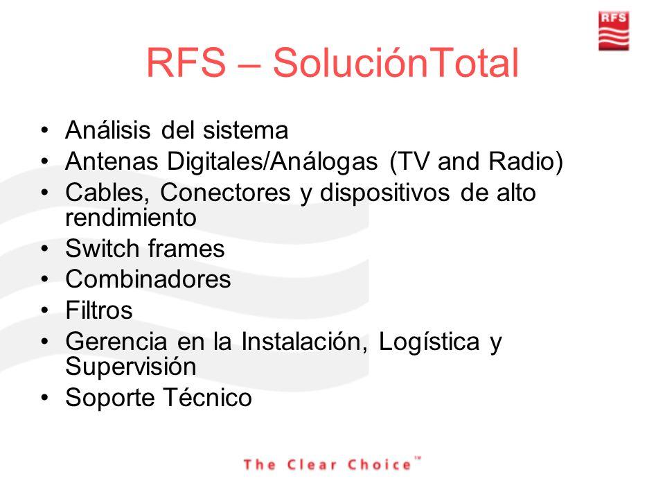 RFS – SoluciónTotal Análisis del sistema