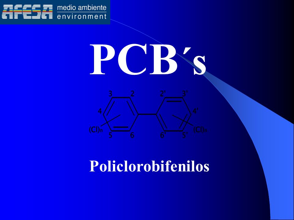 PCB´s Policlorobifenilos