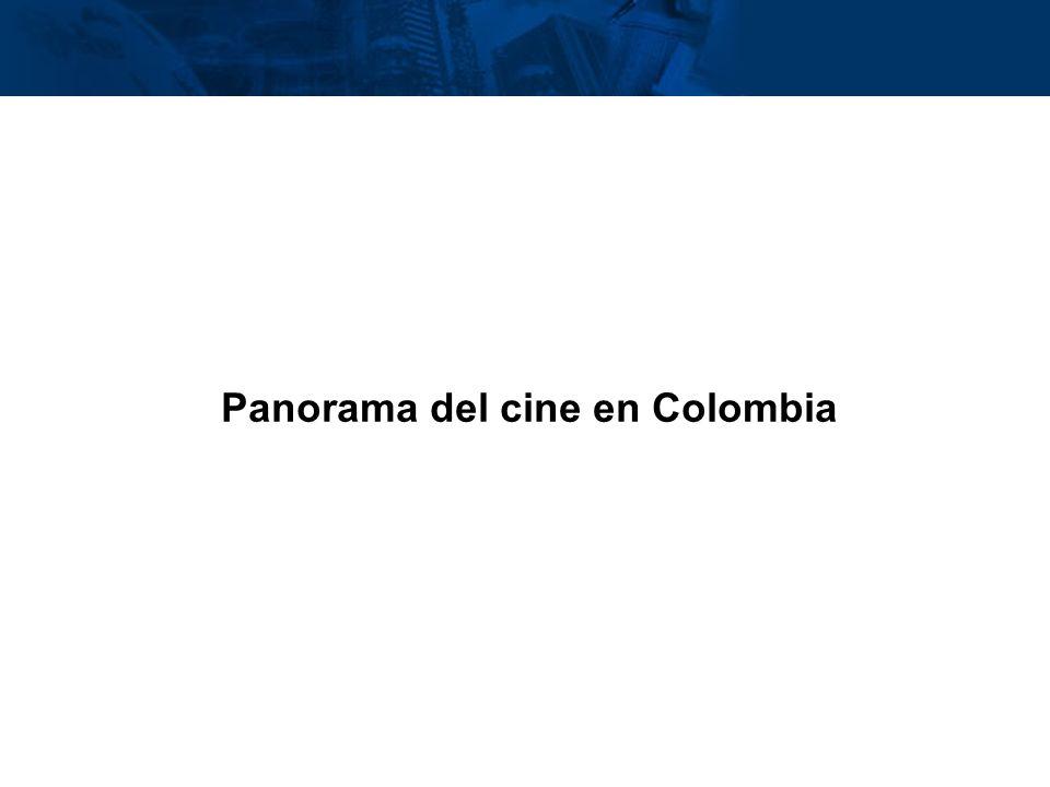 Panorama del cine en Colombia