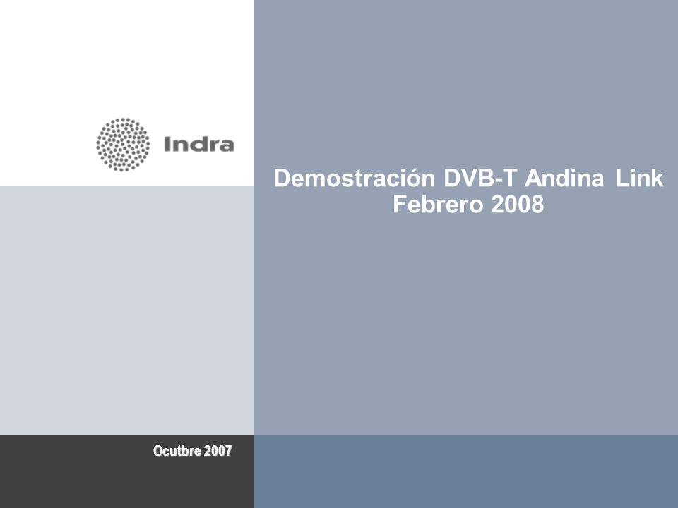 Demostración DVB-T Andina Link Febrero 2008