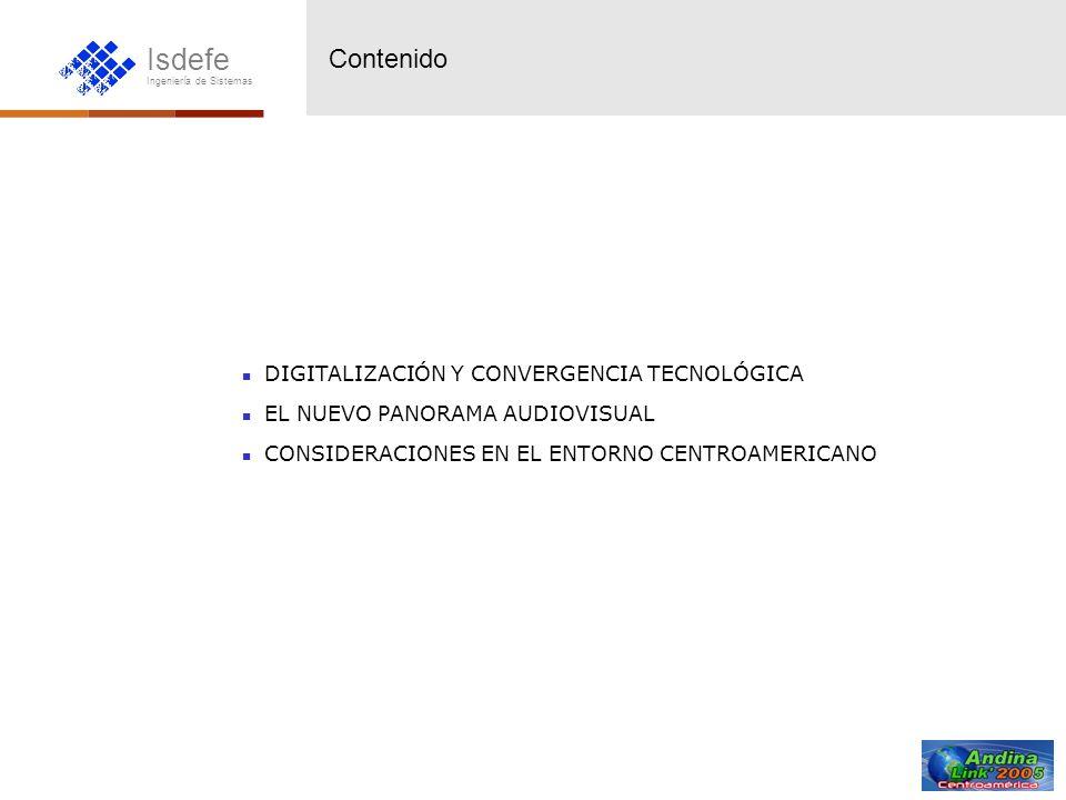 Contenido DIGITALIZACIÓN Y CONVERGENCIA TECNOLÓGICA