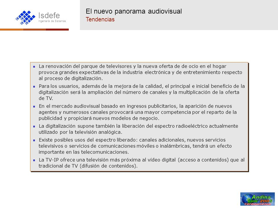 El nuevo panorama audiovisual Tendencias
