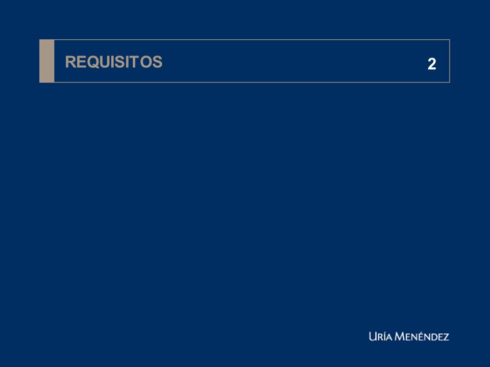 REQUISITOS 2