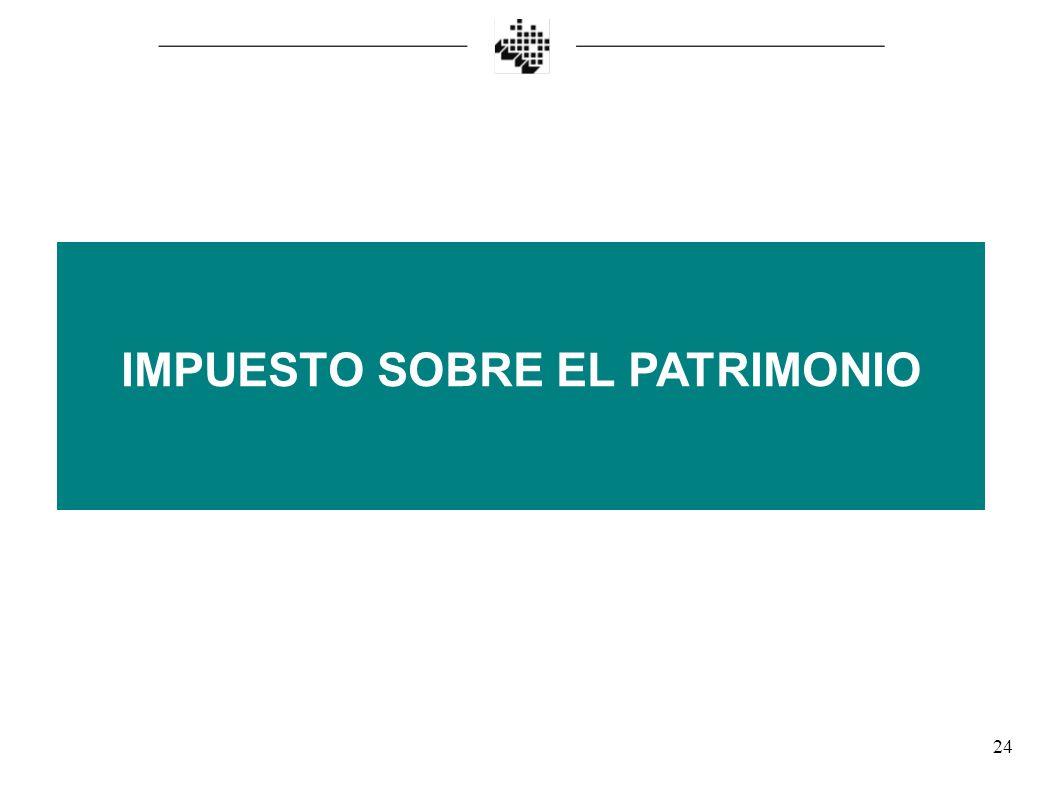 IMPUESTO SOBRE EL PATRIMONIO