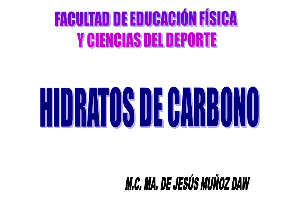 FACULTAD DE EDUCACIÓN FÍSICA