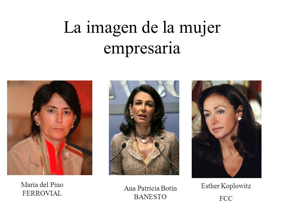 La imagen de la mujer empresaria