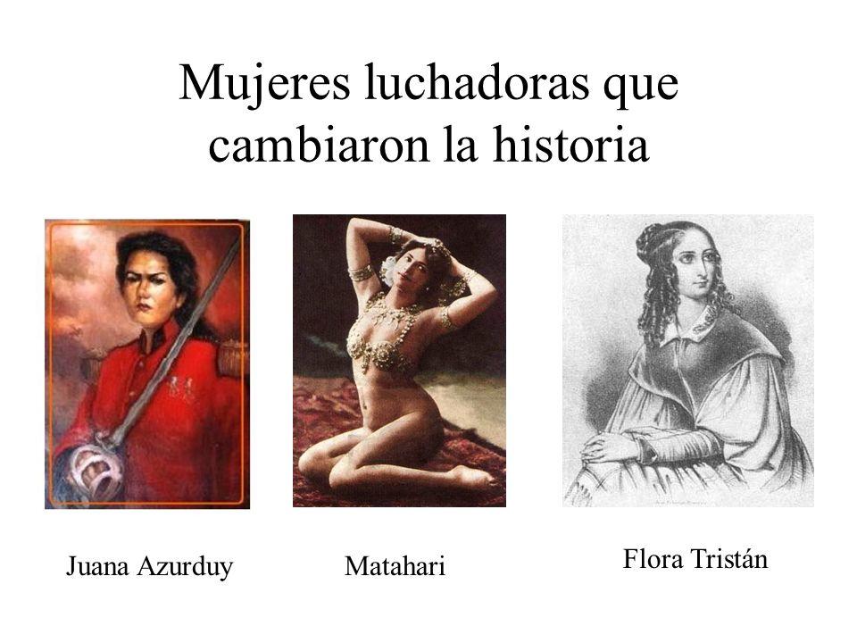 Mujeres luchadoras que cambiaron la historia