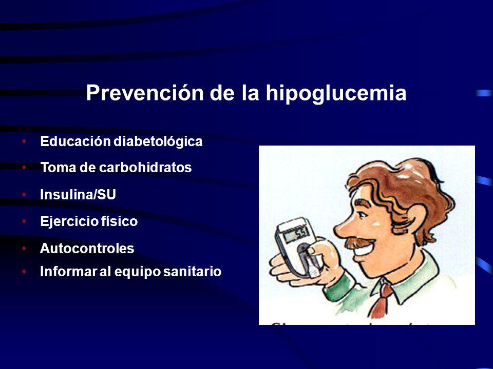 Prevención de la hipoglucemia