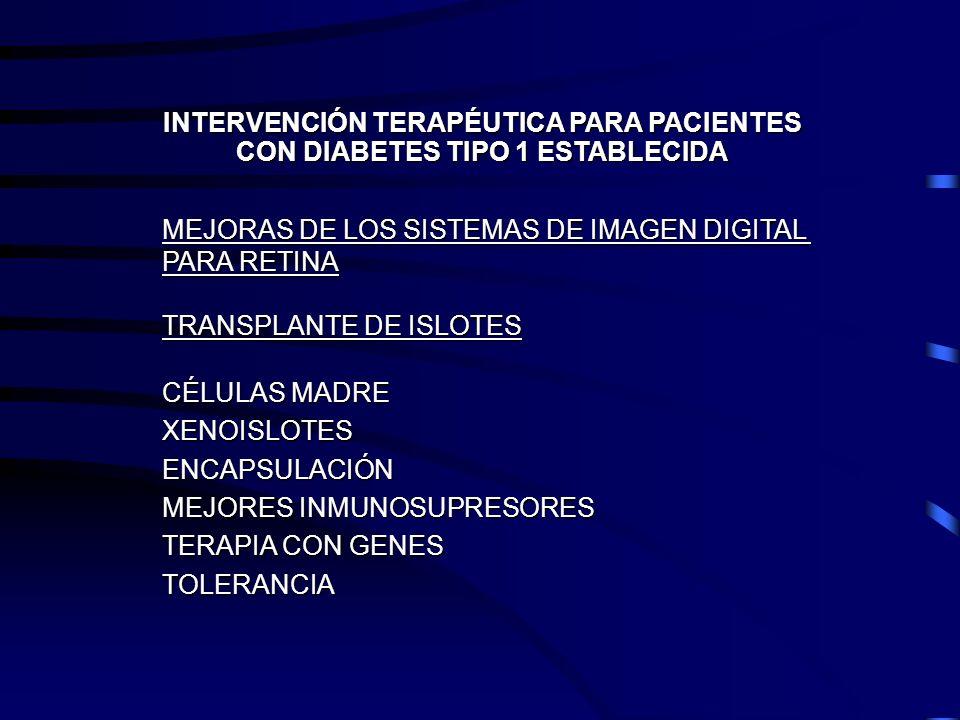 INTERVENCIÓN TERAPÉUTICA PARA PACIENTES
