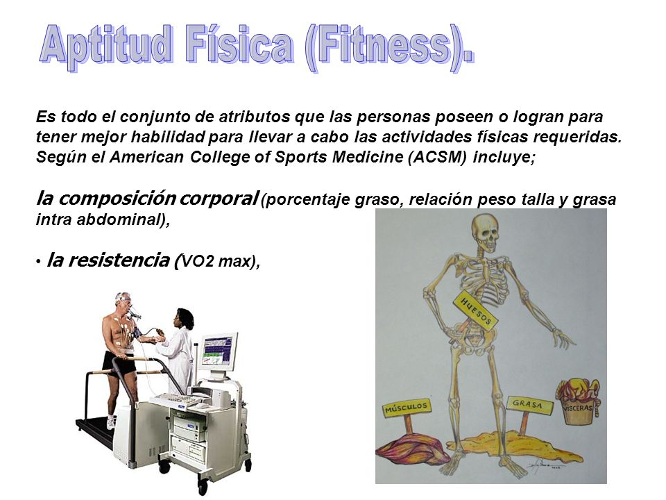 Aptitud Física (Fitness).