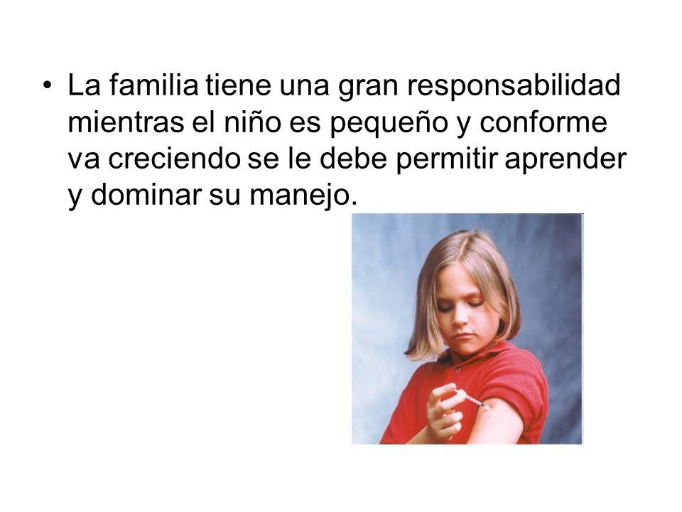La familia tiene una gran responsabilidad mientras el niño es pequeño y conforme va creciendo se le debe permitir aprender y dominar su manejo.
