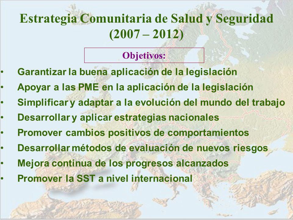 Estrategia Comunitaria de Salud y Seguridad (2007 – 2012)