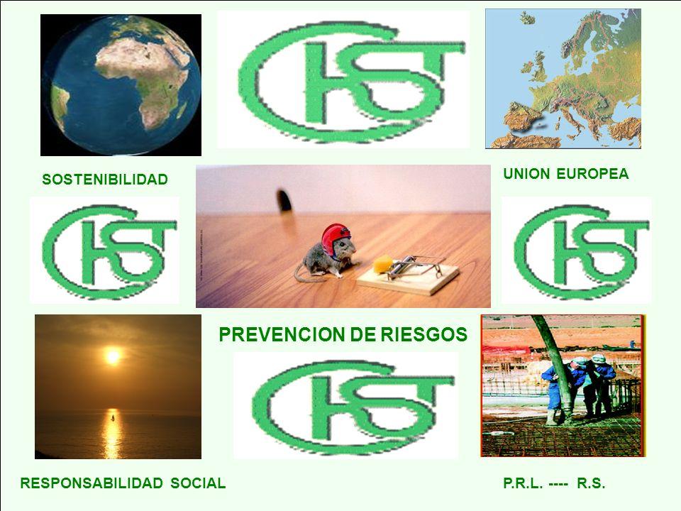 PREVENCION DE RIESGOS UNION EUROPEA SOSTENIBILIDAD