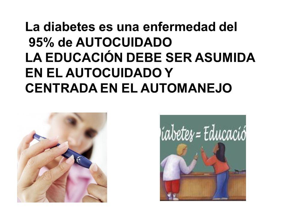 La diabetes es una enfermedad del