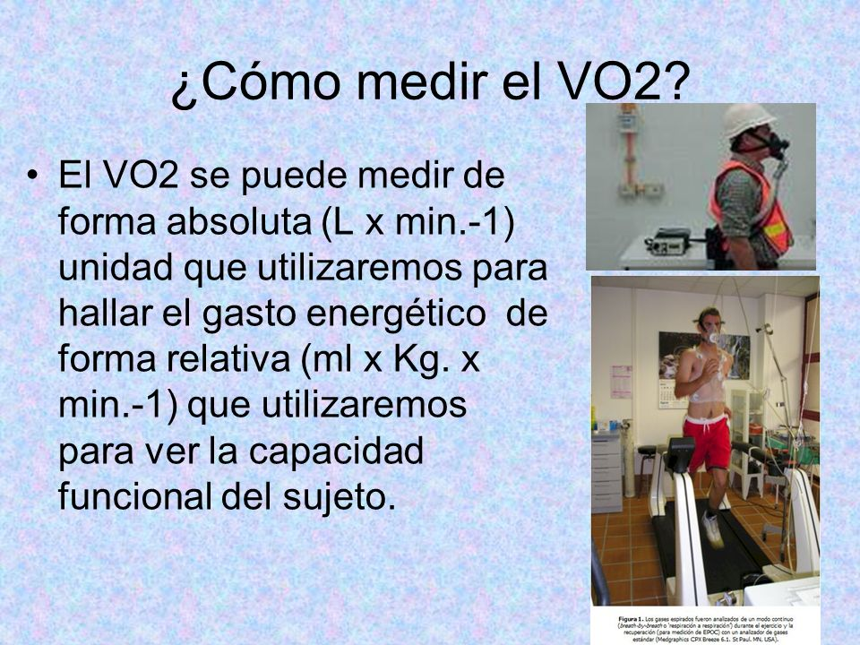 ¿Cómo medir el VO2