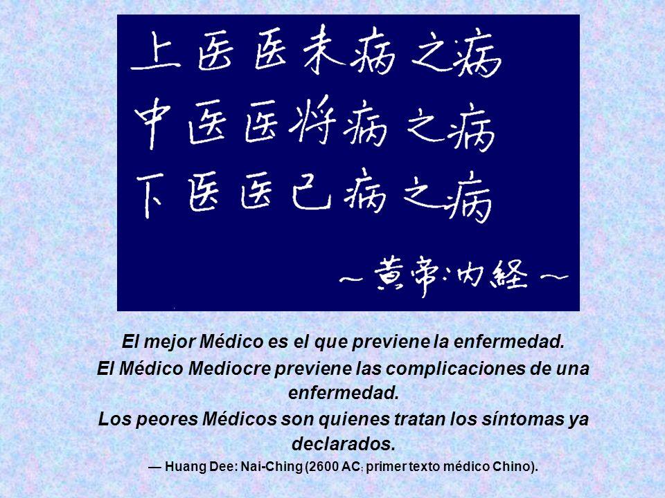 El mejor Médico es el que previene la enfermedad.