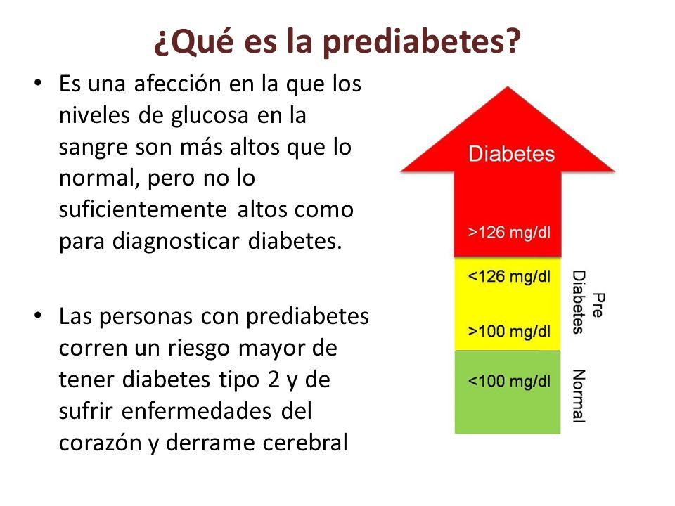 ¿Qué es la prediabetes