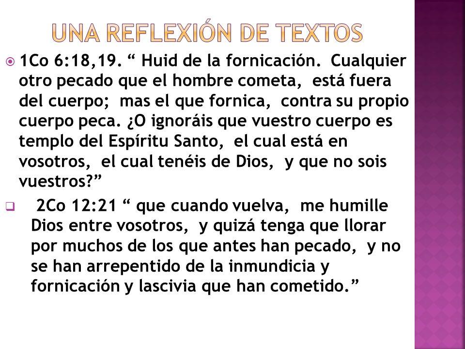 Una reflexión de textos