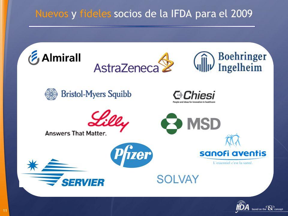 Nuevos y fideles socios de la IFDA para el 2009