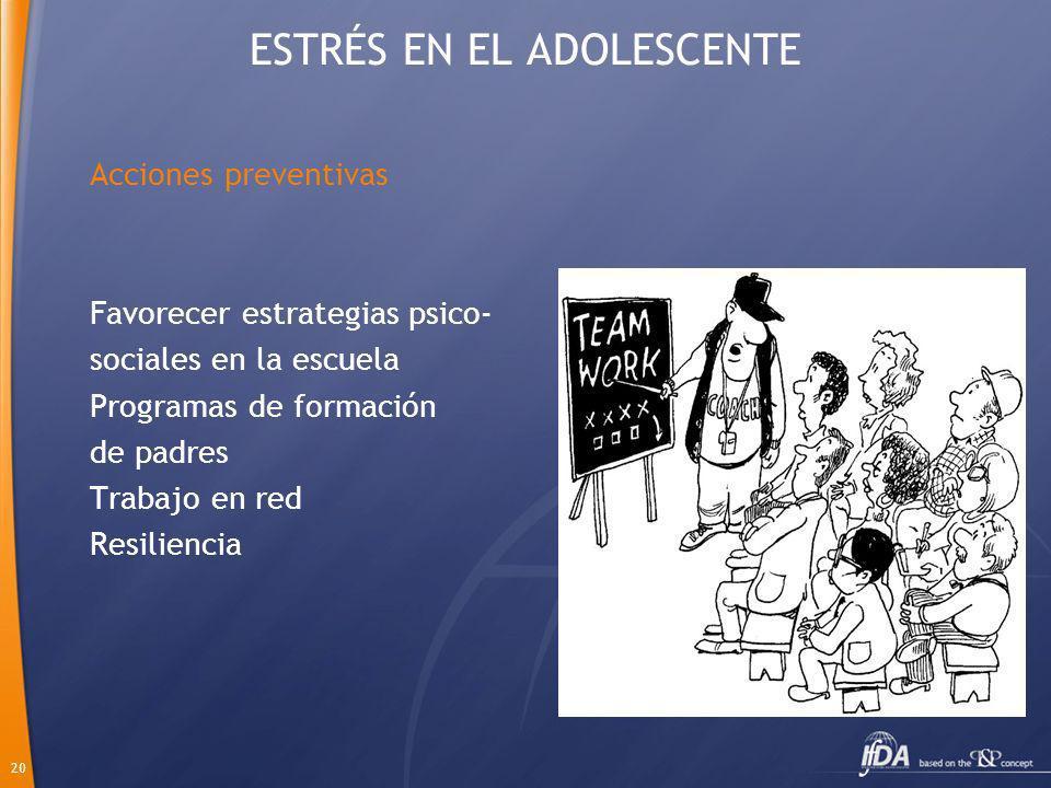 ESTRÉS EN EL ADOLESCENTE