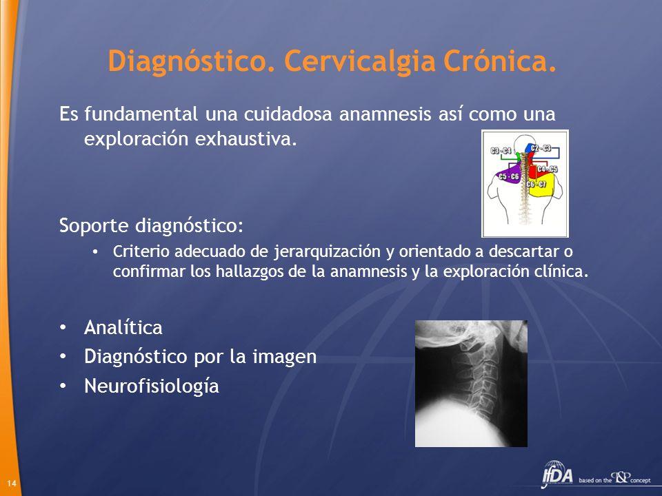 Diagnóstico. Cervicalgia Crónica.
