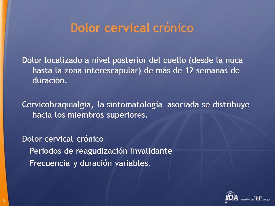 Dolor cervical crónico