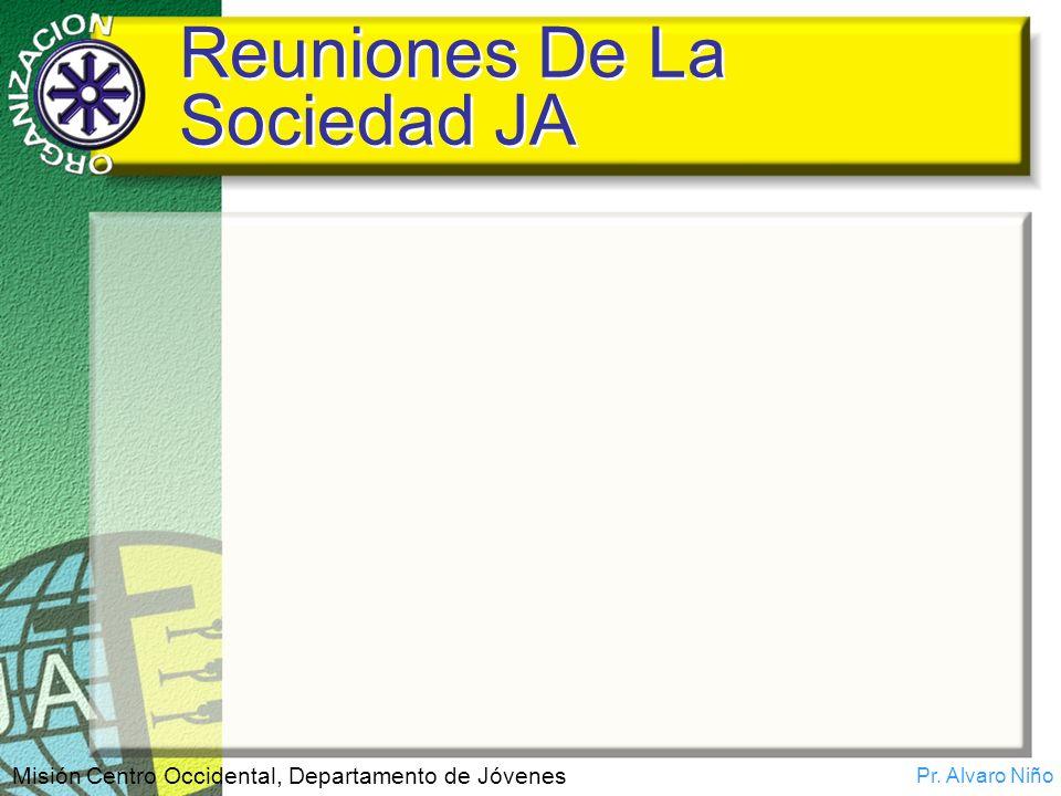 Reuniones De La Sociedad JA