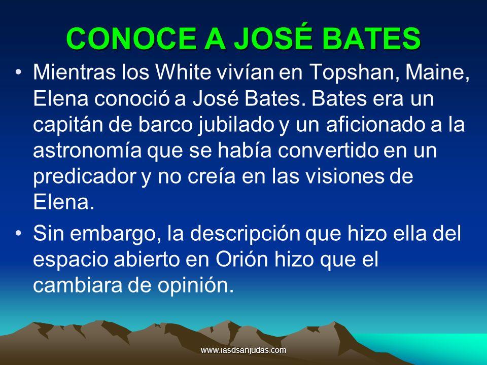 CONOCE A JOSÉ BATES