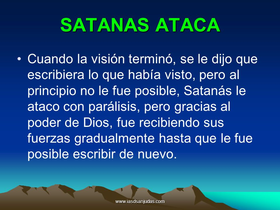 SATANAS ATACA