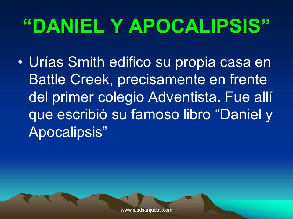 DANIEL Y APOCALIPSIS