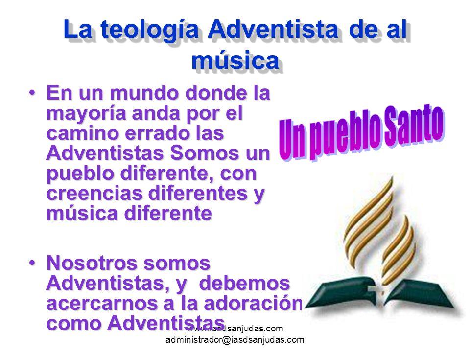 La teología Adventista de al música