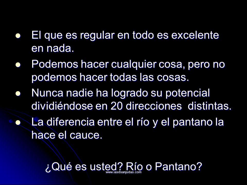 ¿Qué es usted Río o Pantano