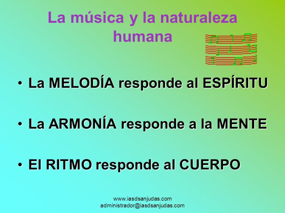 La música y la naturaleza humana