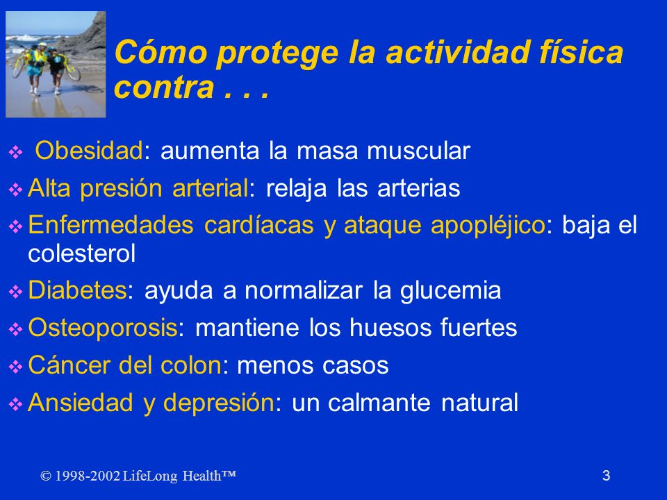Cómo protege la actividad física contra . . .