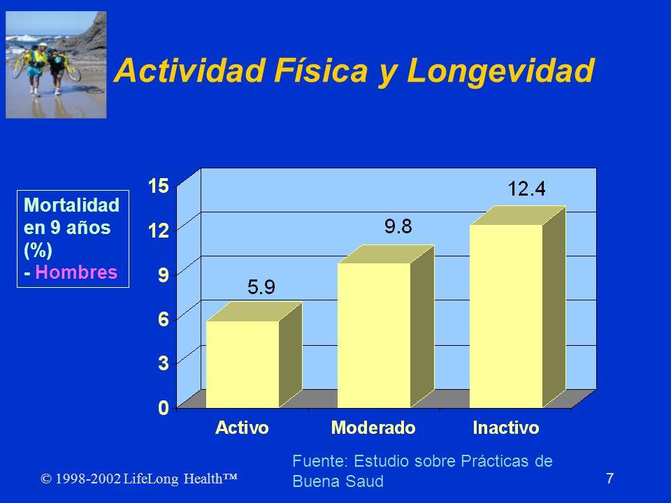 Actividad Física y Longevidad
