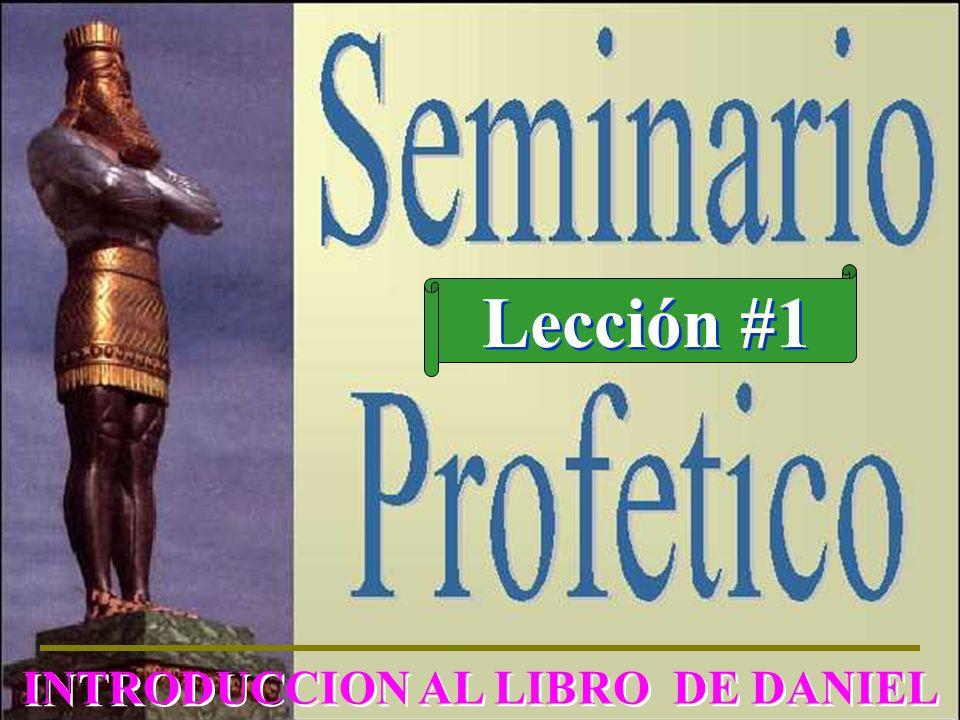 INTRODUCCION AL LIBRO DE DANIEL