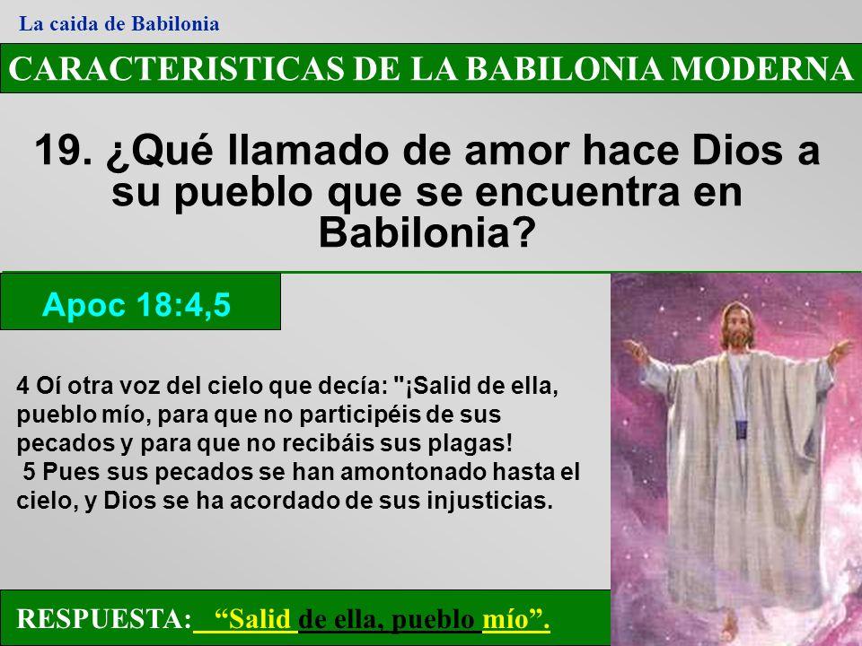 CARACTERISTICAS DE LA BABILONIA MODERNA
