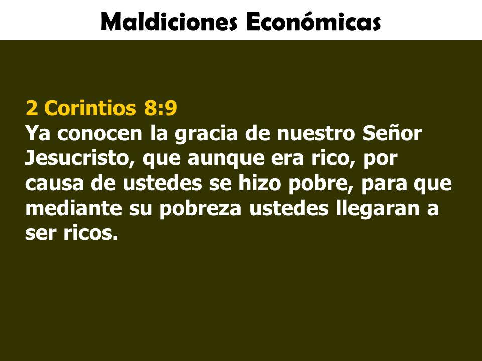 Maldiciones Económicas