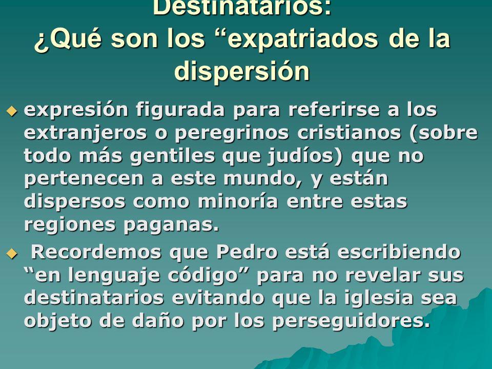 Destinatarios: ¿Qué son los expatriados de la dispersión