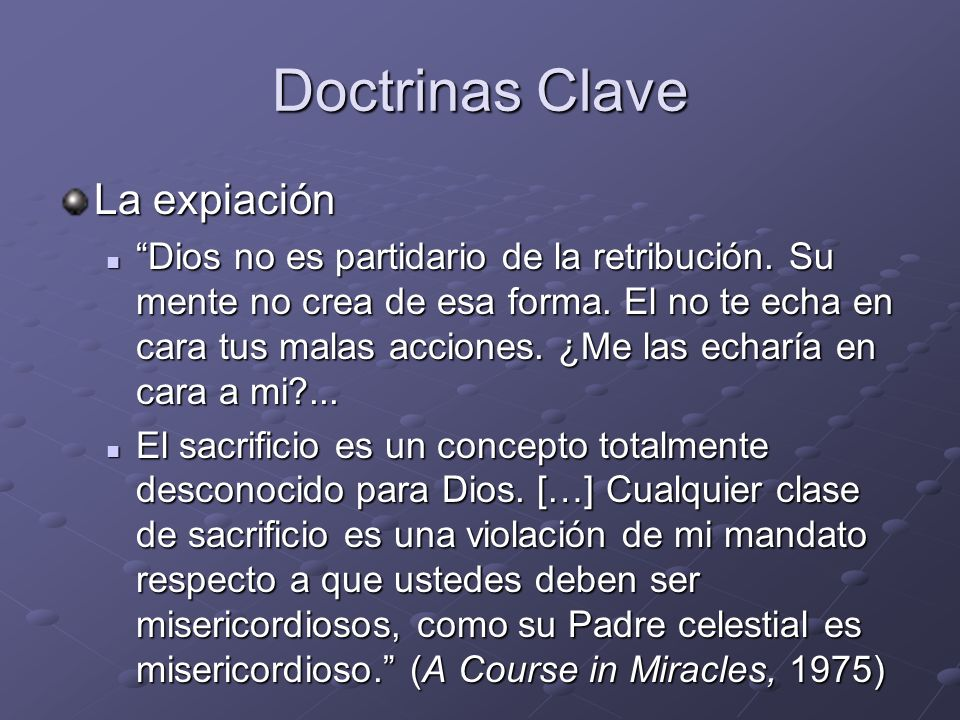 Doctrinas Clave La expiación