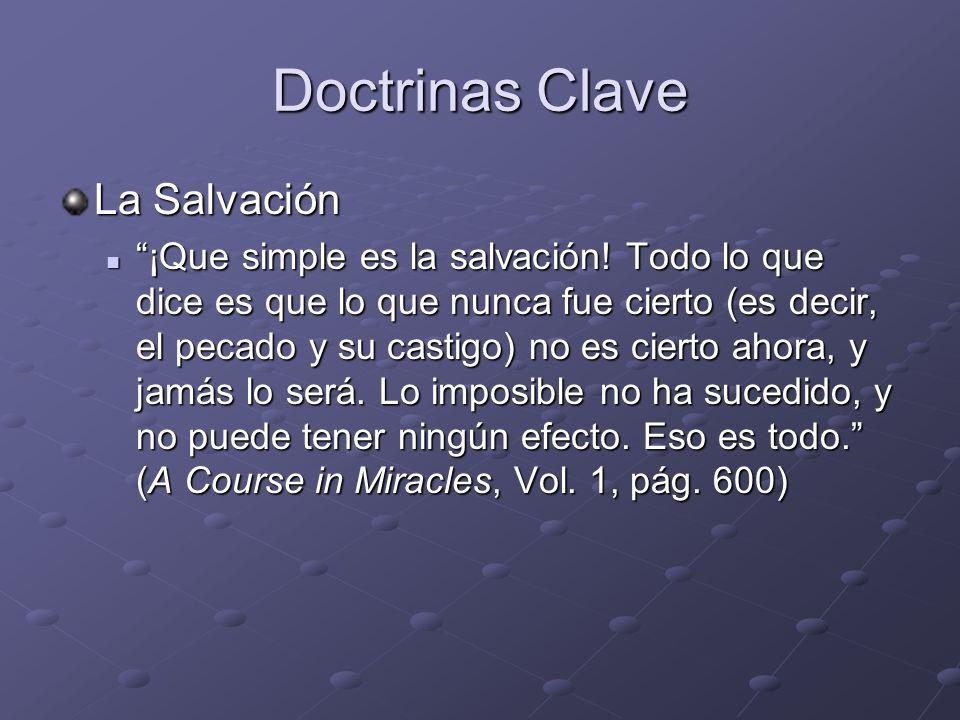 Doctrinas Clave La Salvación