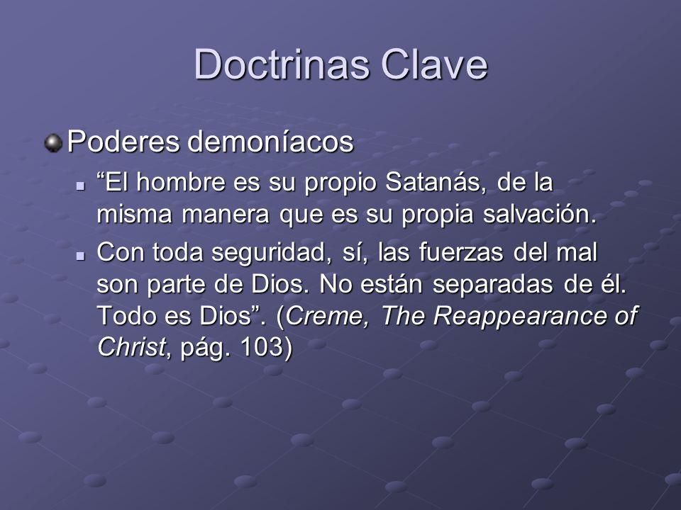Doctrinas Clave Poderes demoníacos
