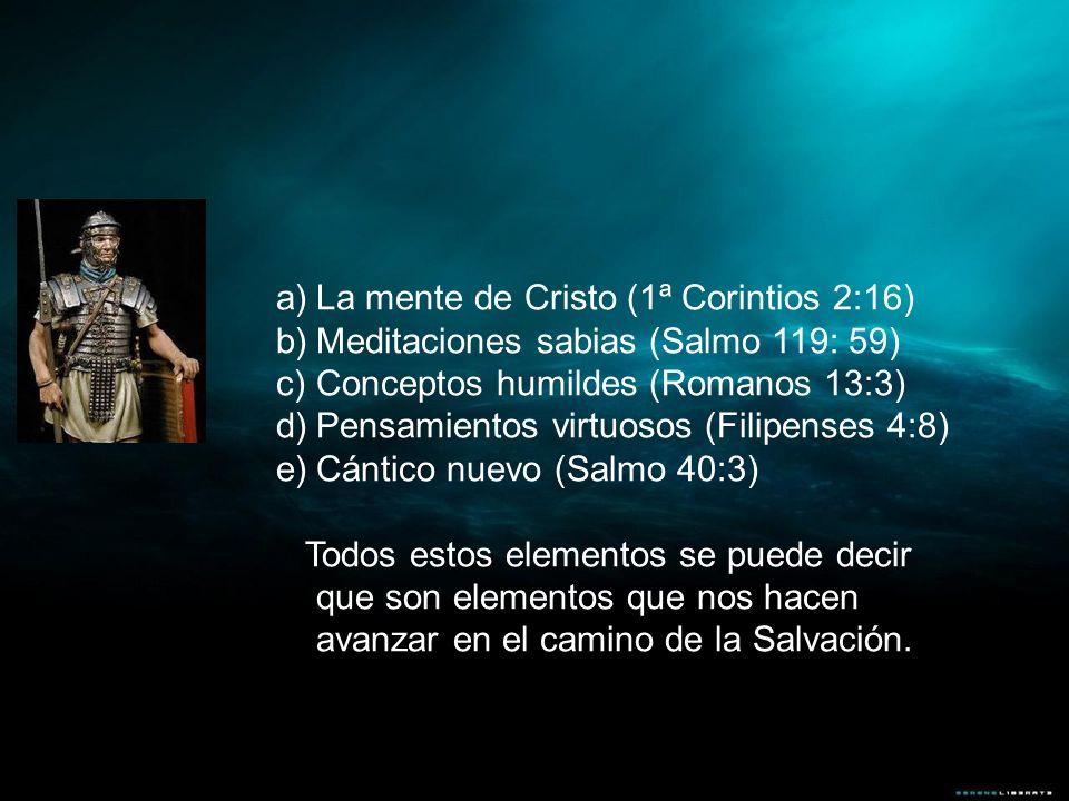 La mente de Cristo (1ª Corintios 2:16)