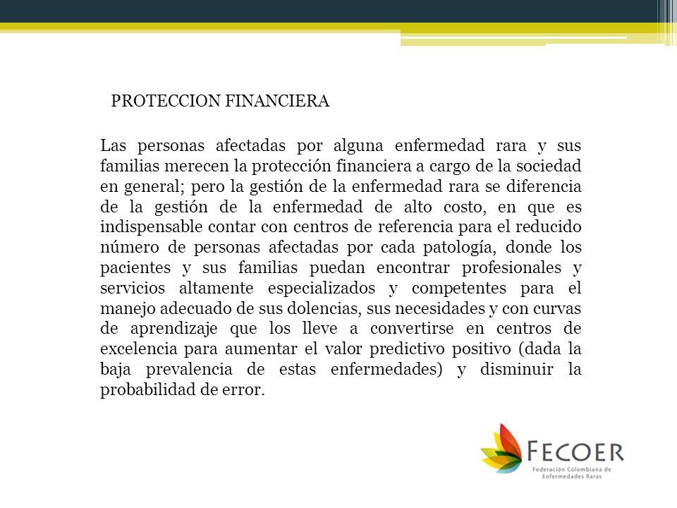 PROTECCION FINANCIERA