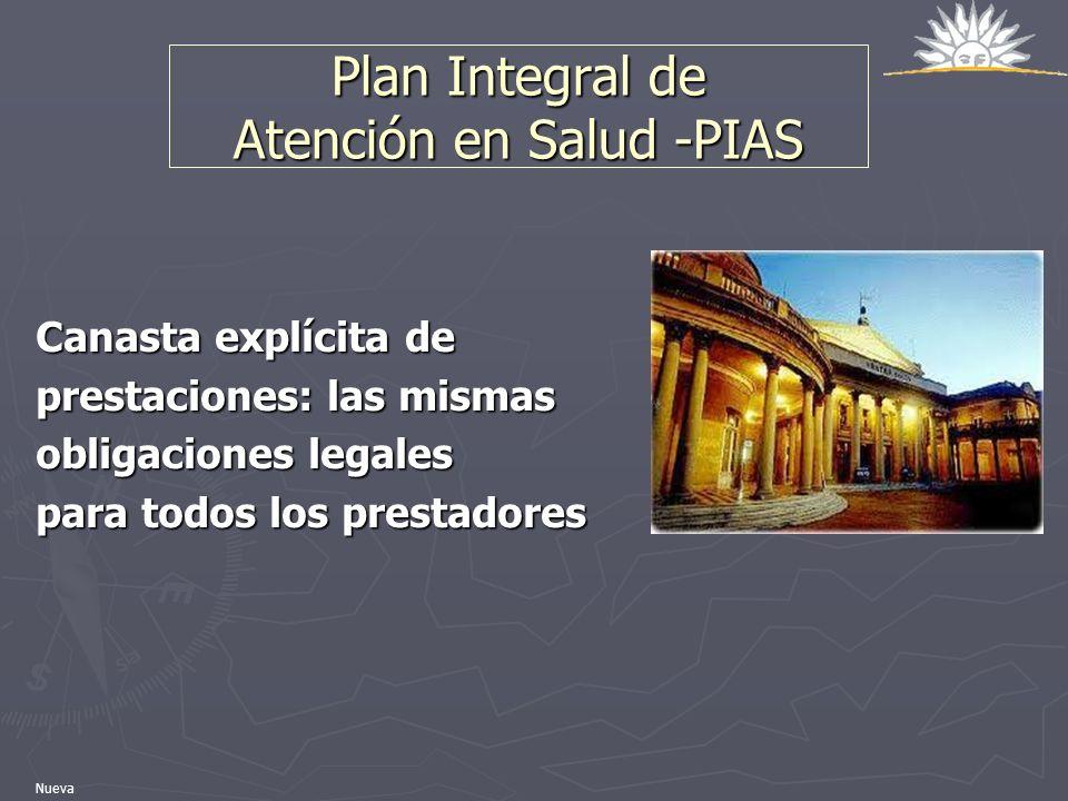 Plan Integral de Atención en Salud -PIAS