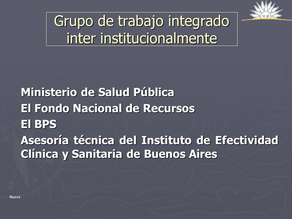 Grupo de trabajo integrado inter institucionalmente
